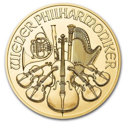 Wiedeńscy Filharmonicy 1 uncja złota
