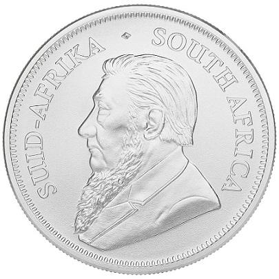 Krugerrand 1 uncja srebra