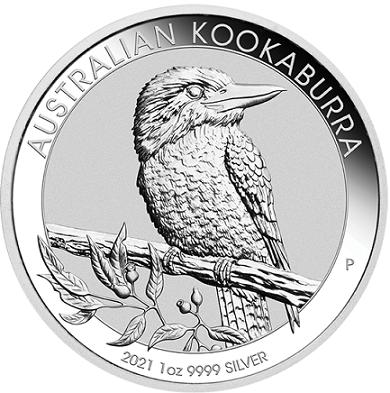 Kookaburra 1 uncja srebra