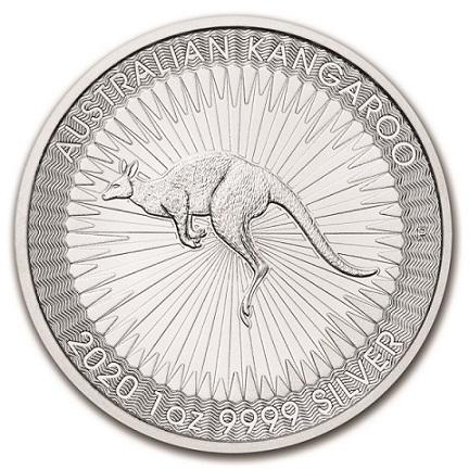 Australijski Kangur 1 uncja srebra