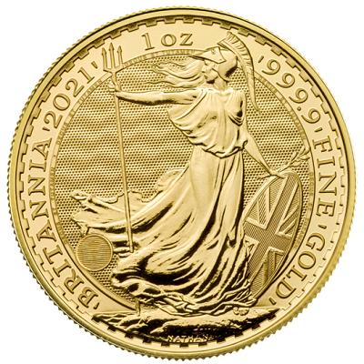 Britannia 1 uncja złota