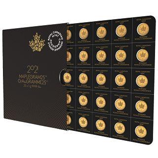 Kanadyjski Liść Klonowy 25 x 1 gram
