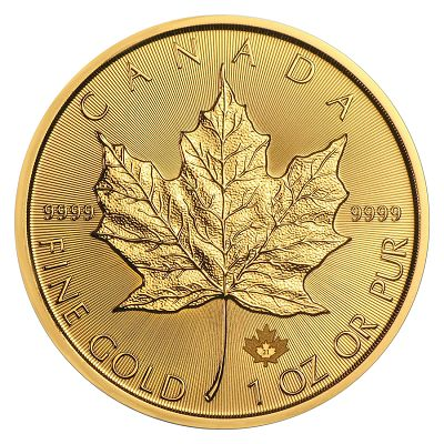 Kanadyjski Liść Klonowy 1 uncja złota