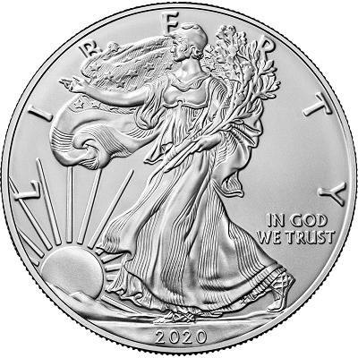 Amerykański Orzeł 1 uncja srebra