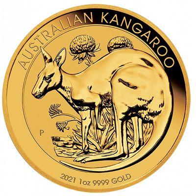 Australijski Kangur 1 uncja złota