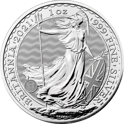 Britannia 1 uncja srebra