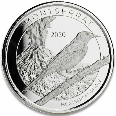 Montserrat Oriole 1 uncja srebra