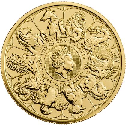 Bestie Królowej 1 uncja złota