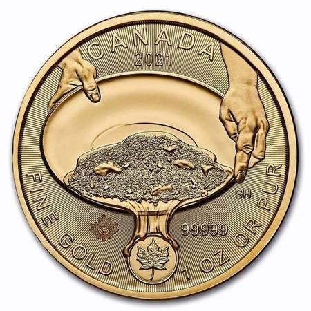 Canada Klondike: Gorączka Złota 1 uncja złota