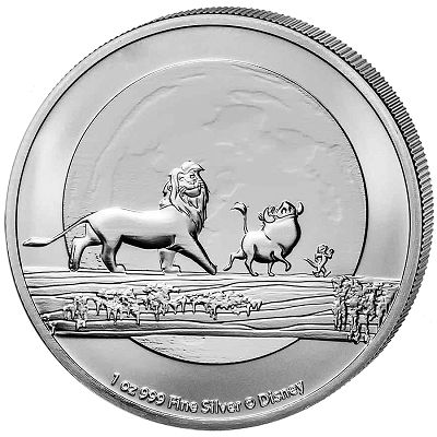 Disney – Król Lew 1 uncja srebra 2021