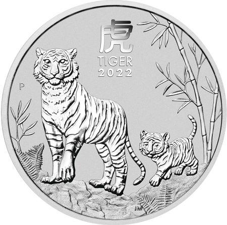 Rok Tygrysa 1 uncja srebra